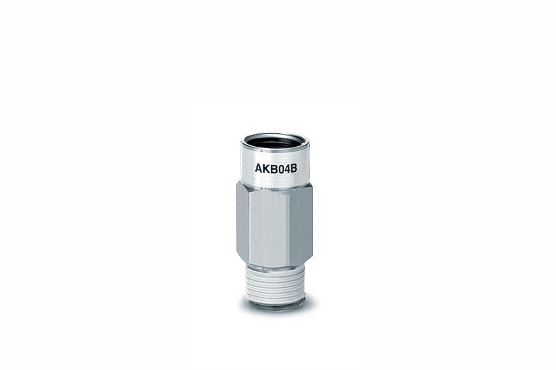 Обратный клапан с быстроразъемным соединением, с наружной и внутренней резьбами