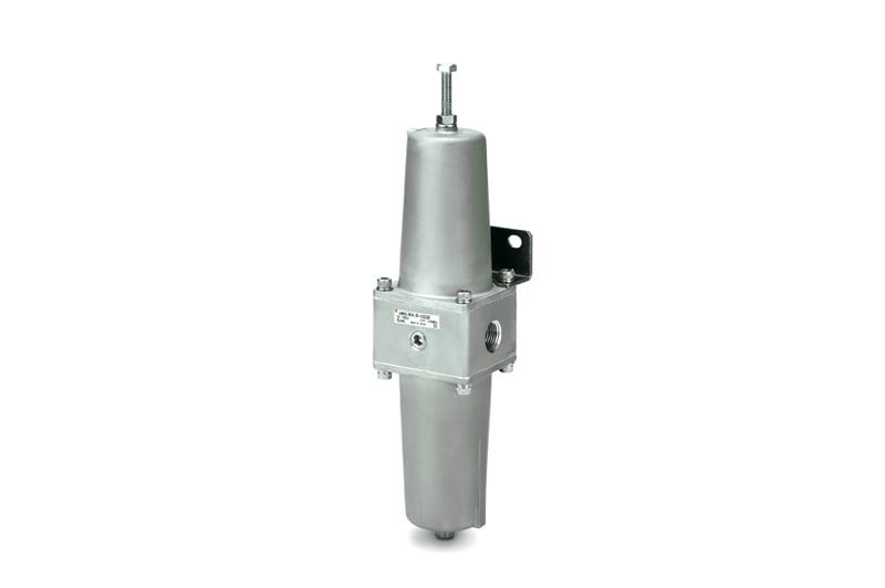 Filtr / regulátor tlaku z korozivzdorné oceli SUS 316