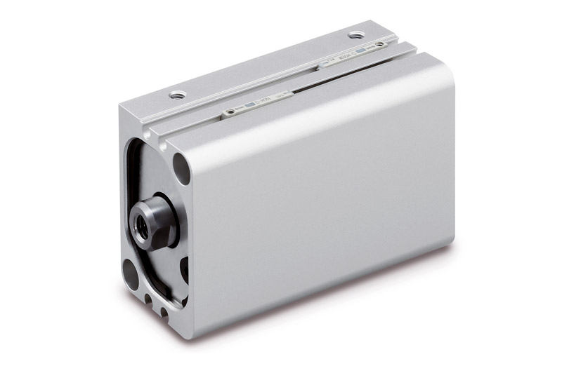 CDQ2B-X3164, Compact Cylinder / Polygonal Piston Rectangle Type