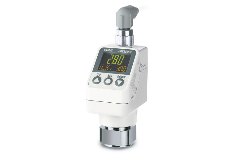 High-precision digital pressure sensor for air & general fluids