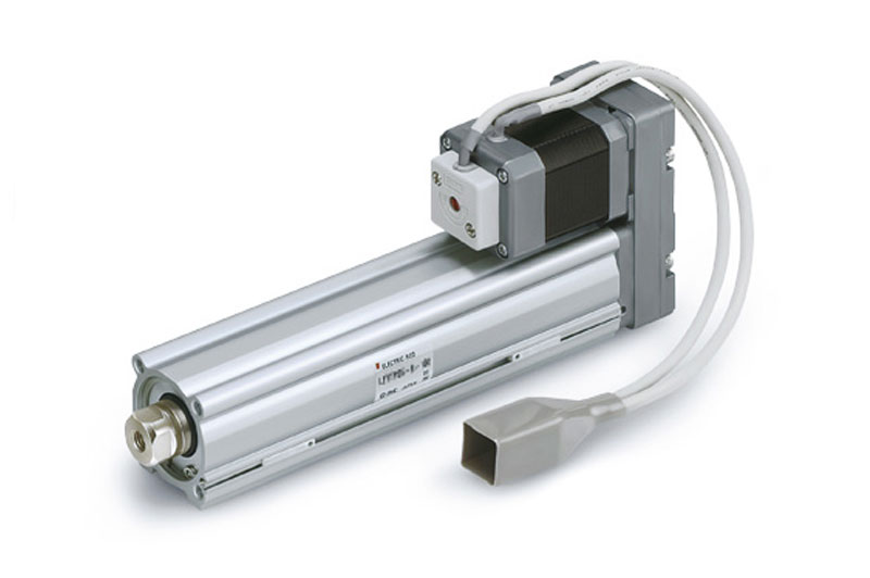 Rod type electric actuator