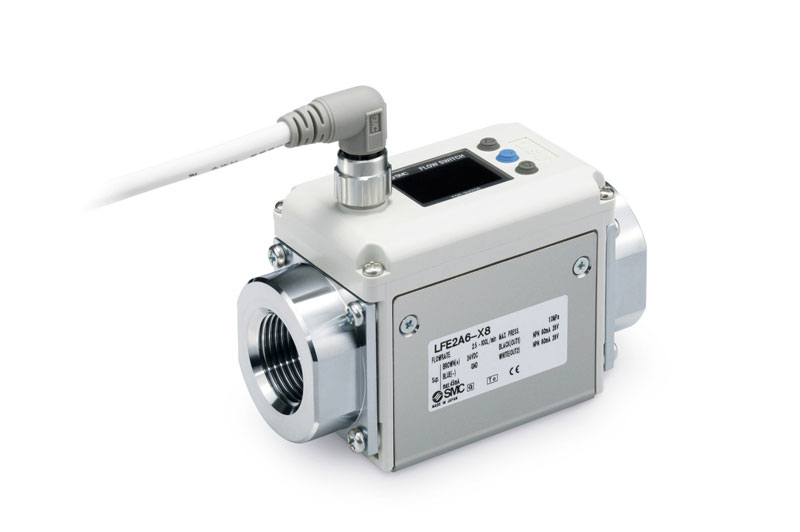 Electromagnetic type digital flow switch