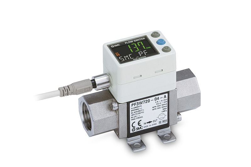 Digital flow sensor for water, PF3W Series