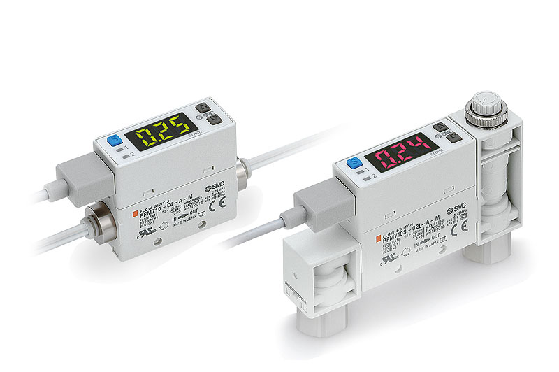 Digital flow switch for small flow, PFM Series