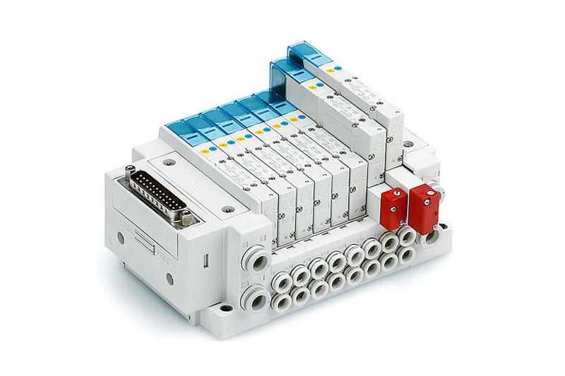Elektromagneticky ovládané 3/2, 5/2 a 5/3 ventily