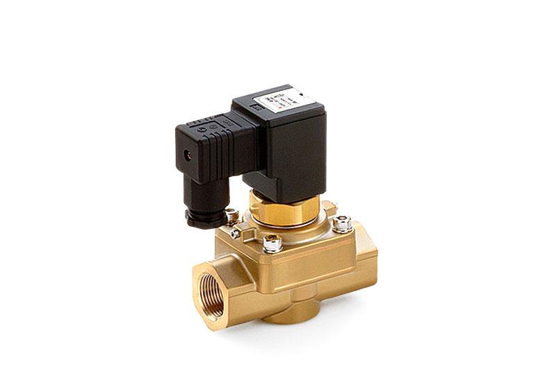 Elektromagneticky nep?ímo ovládany 2/2 a 3/2 ventil  (do 5 MPa)