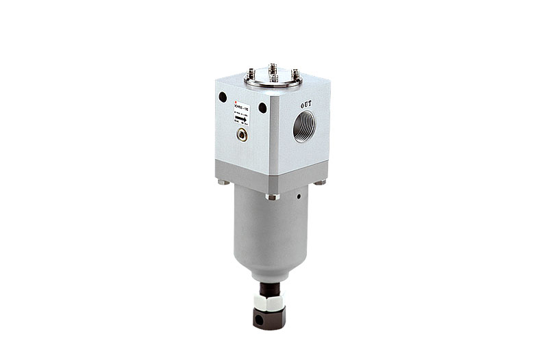 Direct acting regulator for high pressure applications up to 50 bar
