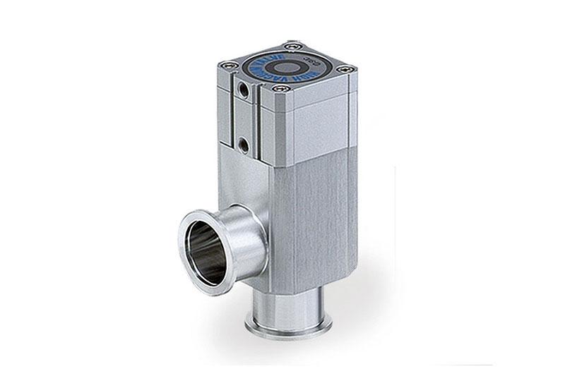 úhlové ventily pro vysoké vakuum