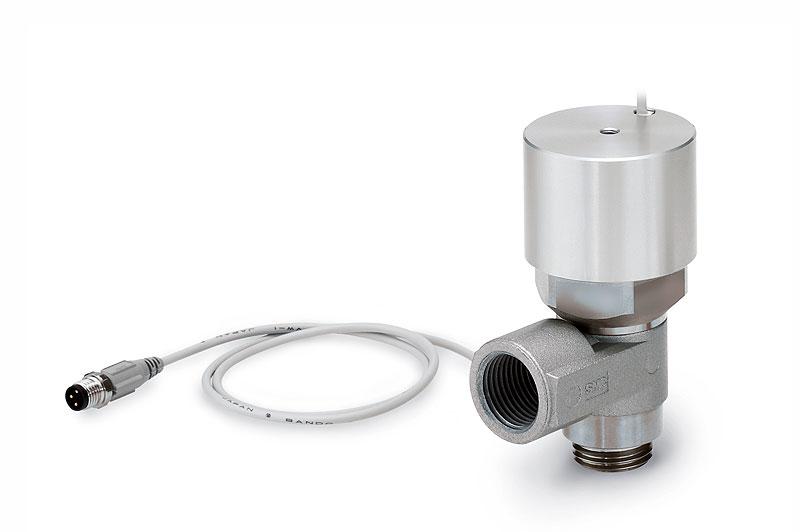 Управляемый обратный клапан с мониторингом состояния