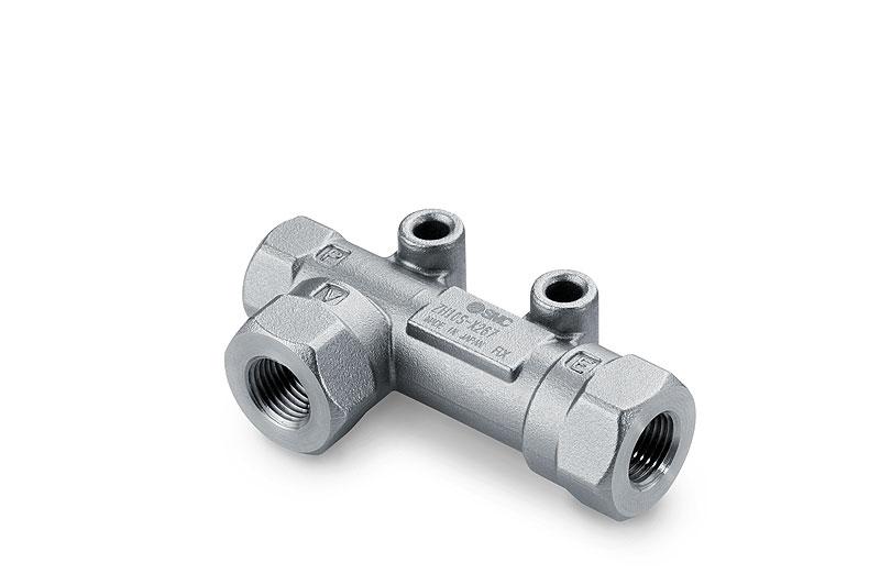 Ejektor z korozivzdorné oceli SUS 304