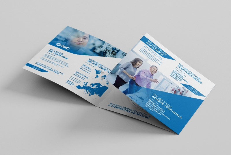 Corporate leaflet