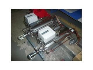 Пропорциональный пневмоцилиндр для управления заслонкой отводящих газов печи
