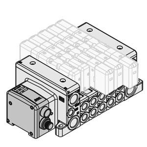 VV80*-SDA2, Manifold, ISO 15407-2, Serial Transmission Kit, EX500