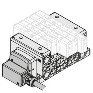 VV80*-LD, Manifold, ISO 15407-2, Lead Wire