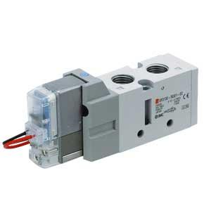 VF3000, 5/2-, 5/3-Wege-Elektromagnetventil mit Vollweggleichrichter