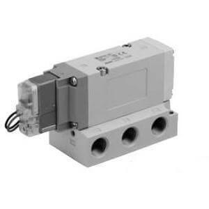 VF5000, 5/2-, 5/3-Wege-Elektromagnetventil mit Vollweggleichrichter