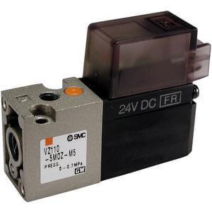 VZ100, Elektromagneticky ovládaný 3/2 ventil, elastomerové těsnění (metrický)