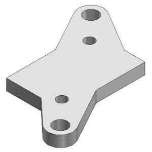 DXT201-19-1A, Upevňovací úhelník, pro VZ500