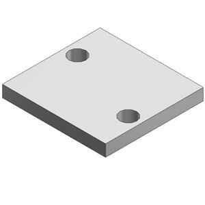 DXT144-13-3A, Blindplatteneinheit für VF1000