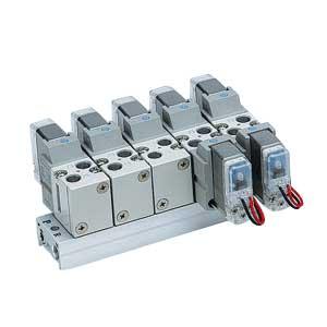 VV5F1, Mehrfachanschlussplatte für Serie VF1000, metrisch