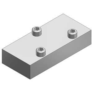 VVFS2000-10A, Blindplatteneinheit für VF(S/R)2000, Flanschversion