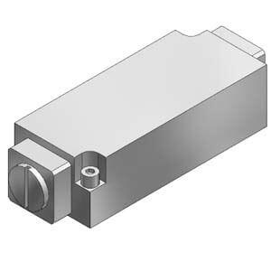VVFS5000-20A, Zwischenplatte Drosselrückschlagventil für VFS5000