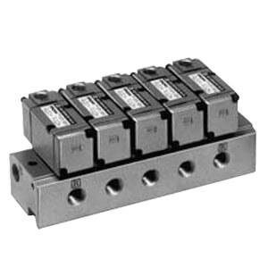 VV3PA7, Serie 700, Druckluftbetriebene Mehrfachanschlussplatte