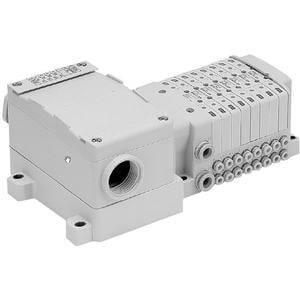 SS0750, Vícenásobná připojovací deska - skládaná, interní prodrátování, svorkovnice, provedení T