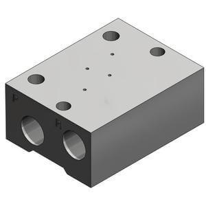 SS3YJ3, Serie 300 Mehrfachanschlussplatte externes Pilotventil