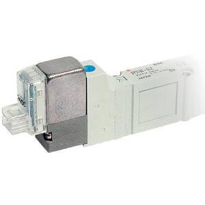 SY7000, 5/2-, 5/3-Wege-Elektromagnetventil mit weichdichtendem Schieber, alle Typen
