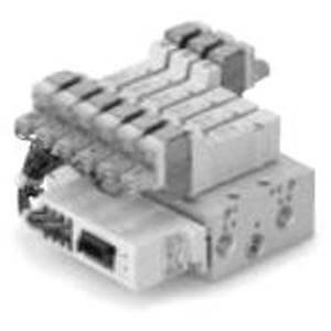 SS5Y7-42SA, řada 7000, Vícenásobná připojovací deska - integrované sériové připojení