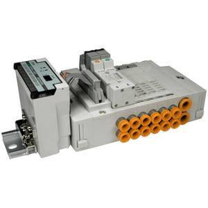 SS5X3-45S1*, Serie 3000 Mehrfachanschlussplatte Kassettenversion, serielle Schnittstelle