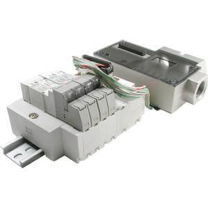SS5X3-45S2, Mehrfachanschlussplatte Kassettenversion, serielle Schnittstelle mit IN313