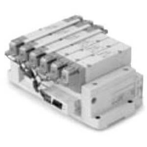 SS5Y9-43SA, řada 9000, Vícenásobná připojovací deska - skládaná, sériové připojení