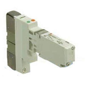 VQ1*0*, Serie 1000, 5/2-, 5/3-Wege-Elekromagnetventil, mit interner Verdrahtung, Flanschversion
