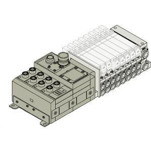 VV5Q21-SD*W, Base Mounted for EX240 Integrated-type (I/O) Serial Transmission System