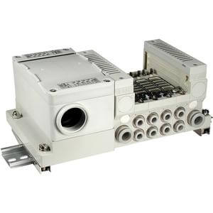VV5Q21-T, 2000 Series, Base Mounted Manifold, Plug-in, Terminal Box