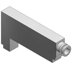 VVQ1000-P-1-C6, Individuelle Versorgung für VQ(C)1000, Flanschversion