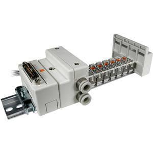 SS5Q14-F, Serie 1000 Mehrfachanschlussplatte mit externer Verdrahtung, D-sub-Stecker-Set