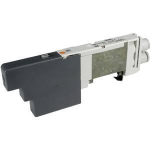 SQ1*3*, řada 1000, Elektromagnetický nepřímo ovládaný 5/2 a 5/3 ventil, interní prodrátování, Nová řada