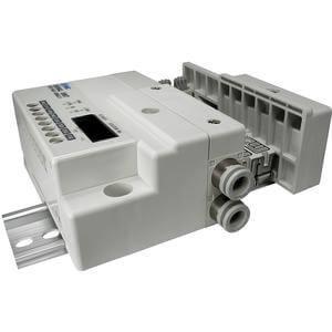 SS5Q13-S, Serie 1000 Mehrfachanschlussplatte mit interner Verdrahtung, Set serielle Datenübermittlung