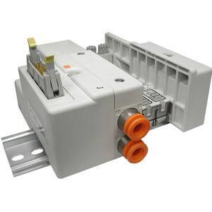 SS5Q13-J, Serie 1000 Mehrfachanschlussplatte, Flachbandkabel (20P) Set