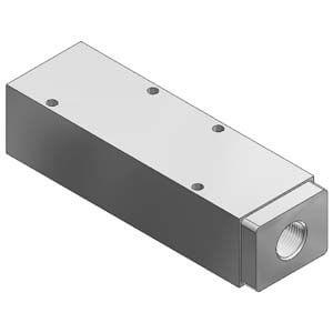VVQ5000-P-5, Mezikus pro individuální přívod vzduchu, pro VQ5000, individuální elektrické připojení