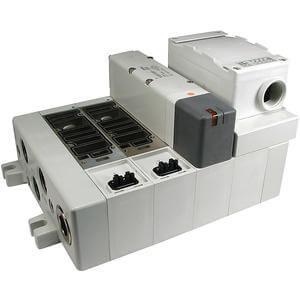 VV5Q51-T, 5000 Series, Base Mounted Manifold, Plug-in, Terminal Block