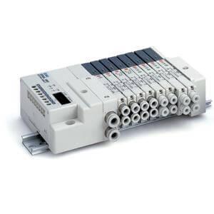 SS5Q23-S, Serie 2000 Mehrfachanschlussplatte mit interner Verdrahtung, serielles Datenübertragungsset