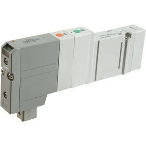 SV4000, Elektromagnetický nepřímo ovládaný 5/2 a 5/3 ventil, všechna provedení