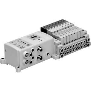 SS5V2-W10S1, Serie 2000 Mehrfachanschlussplatte  Montage an Zugstange