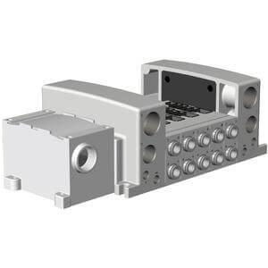 56-VV5QC41-**TD0, Flanschversion, interne Verdrahtung, Klemmenkasten, ATEX Kategorie 3