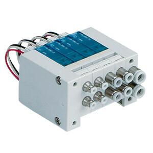 VV100-10, 3/2-Wege-Magnetventil, Externe Verdrahtung, Mehrfachanschlussplatte mit individ. Verdrahtung