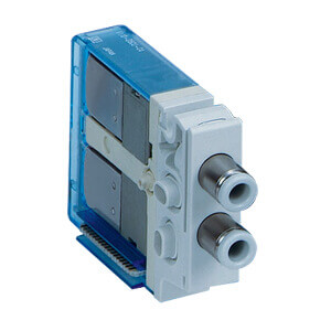 V100, 3/2-Wege-Magnetventil, Interne Verdrahtung